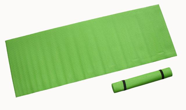 karimatka fitness 173x61x0,4cm zelená
