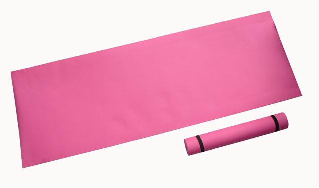 karimatka gymnastická 173x61x0,4cm růžová