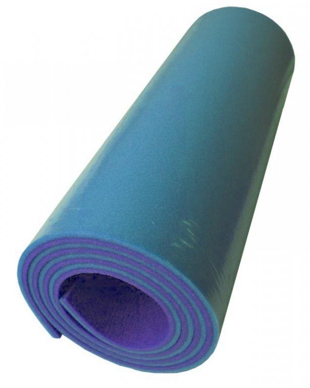 karimatka dvouvrstvá 10mm modro/fialová