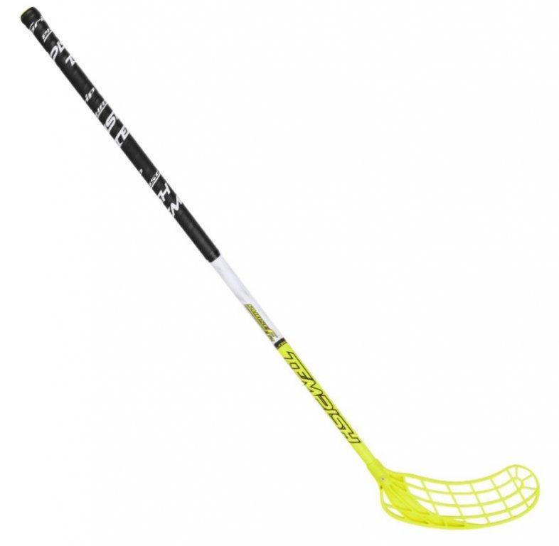 hokejka florbal Tempish PHASE F32 green Junior 75cm, levá
