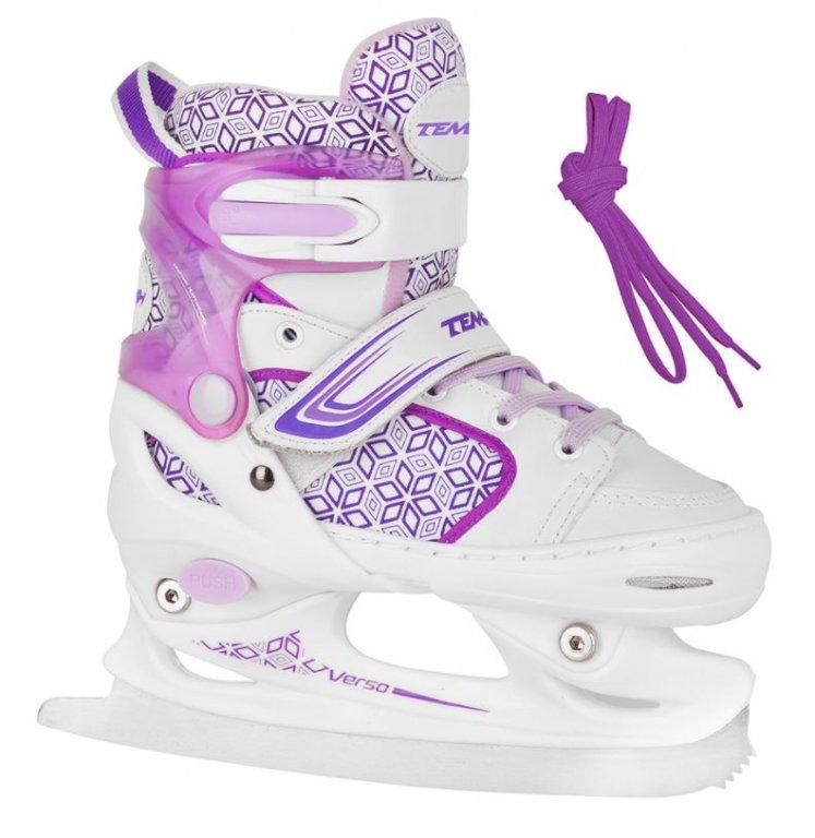 brusle zimní dětské Tempish RS VERSO ICE Girl fialové, 26-29