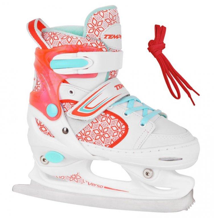 brusle zimní dětské Tempish RS VERSO ICE Girl červené, 26-29