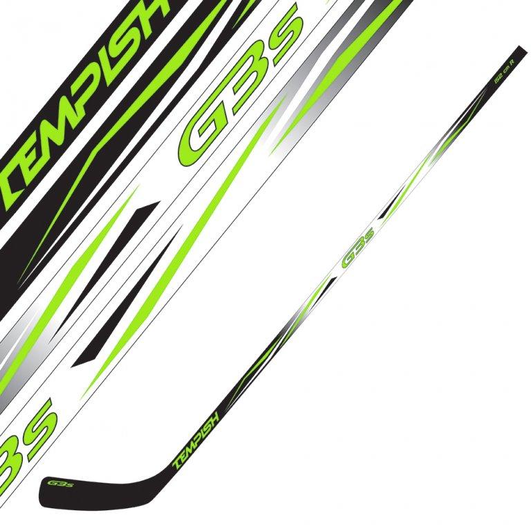 hokejka Tempish G3S 130cm zelená, levá