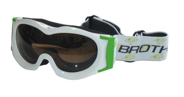 brýle lyžařské BROTHER dětské B185 bílé