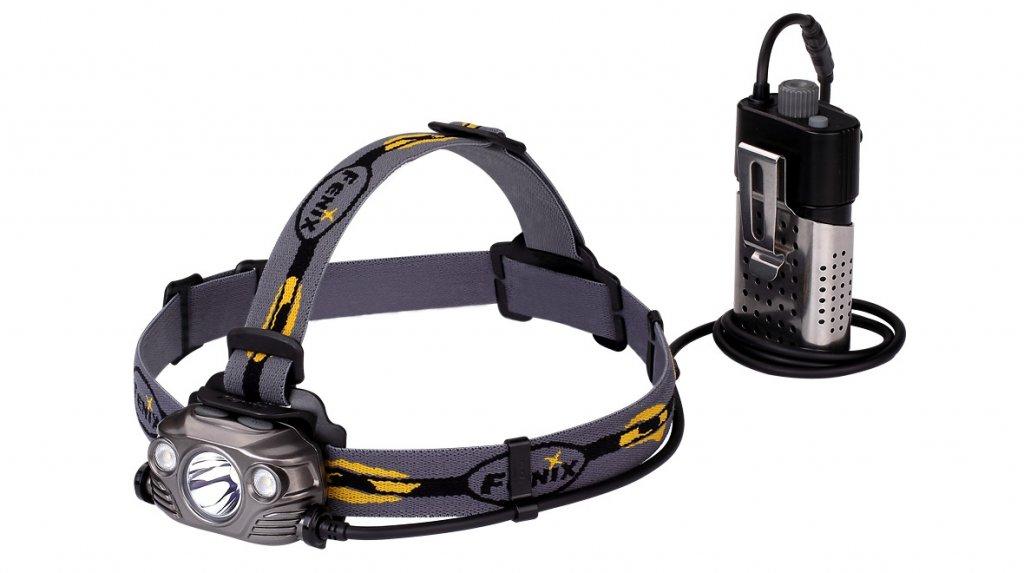 čelovka Fenix HP30R šedá