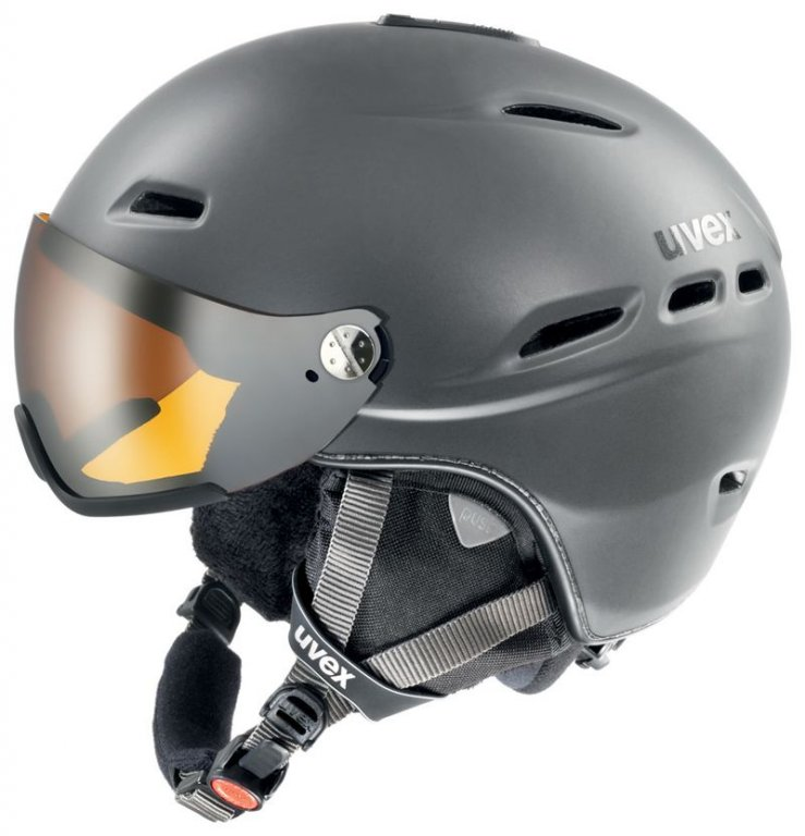 přilba lyžařská UVEX HLMT 200 šedá, 55-58
