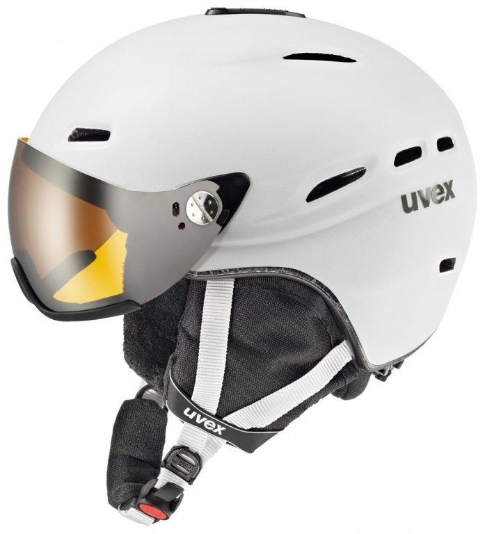přilba lyžařská UVEX HLMT 200 bílá, 53-55