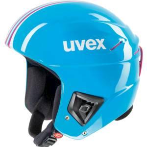 přilba lyžařská UVEX HLMT 5 RACE tyrkysová, 52-55