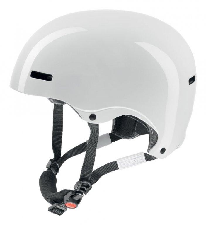 přilba lyžařská UVEX HLMT 5 RADICAL bílá, 52-55
