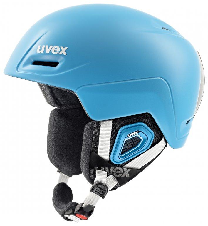 přilba lyžařská UVEX JIMM modrá, 55-59
