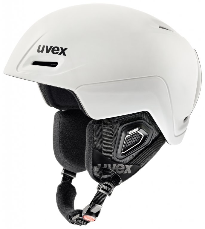 přilba lyžařská UVEX JIMM bílá, 52-55