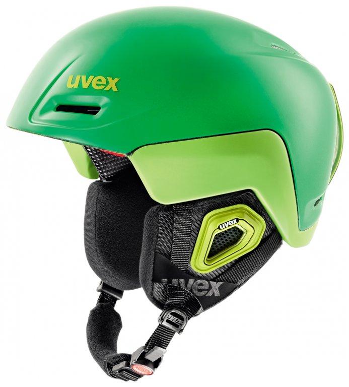 přilba lyžařská UVEX JIMM OCTO+ zelená, 52-55