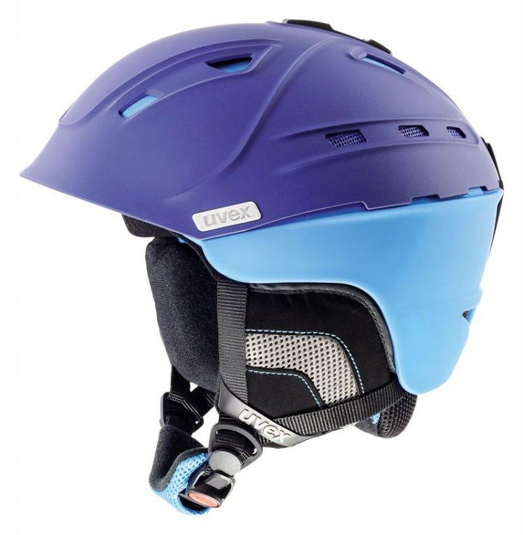 přilba lyžařská UVEX P2US modrá, 55-59