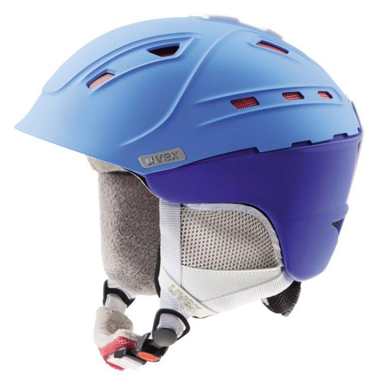 přilba lyžařská UVEX P2US WL modrá, 51-55