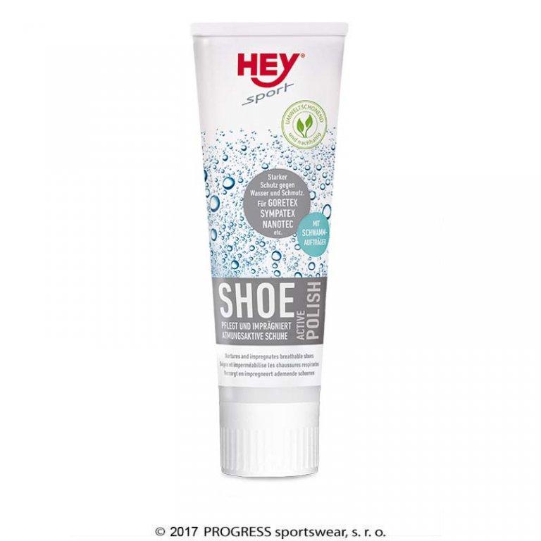 impregnace na boty Hey sport Shoe Active Polish 75ml černá