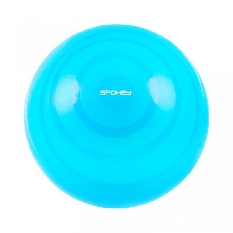 míč gymnastický Spokey FITBALL MOD 65cm tyrkysový s pumpičkou