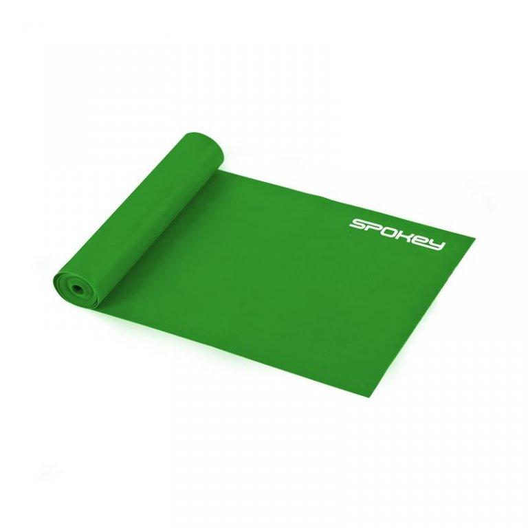 guma Spokey RIBBON II fitness medium zelená