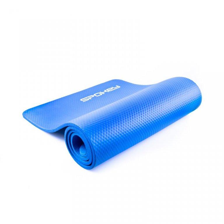 karimatka Spokey SOFTMAT na cvičení 1,5cm modrá