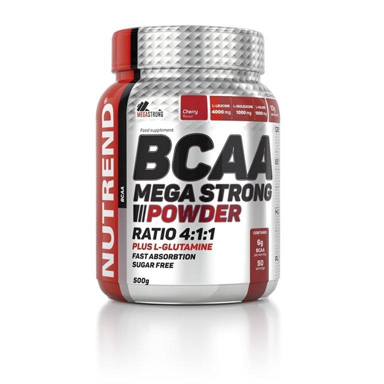 nápoj Nutrend BCAA Mega Strong Powder 500g višeň