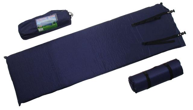 Matrace samonafukovací 7cm modrá
