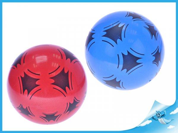 míč 22cm barevný, červený