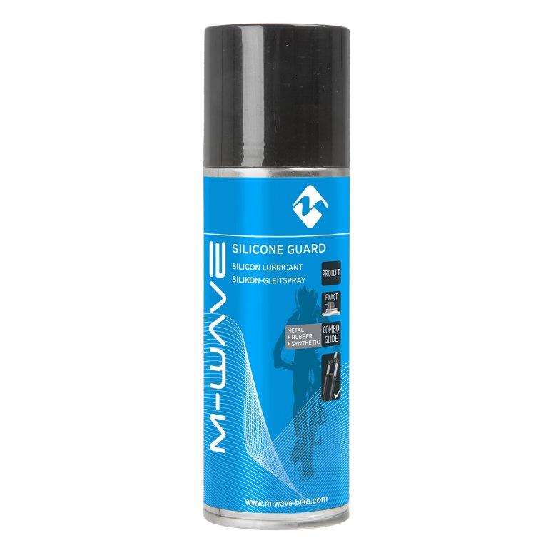 Olej M-Wave Silicone Guard spray 400ml - na vidlice, řezení.