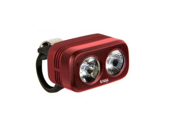 osvětlení přední Knog Blinder ROAD 400 červené