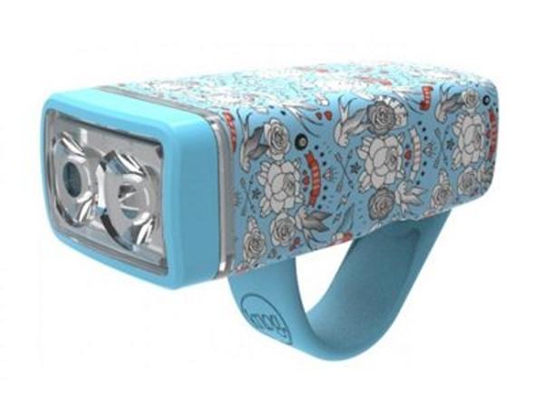 osvětlení přední Knog POP ii světle modré