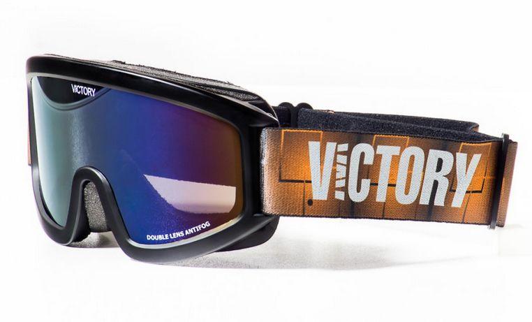 brýle lyžařské Victory 613B černé