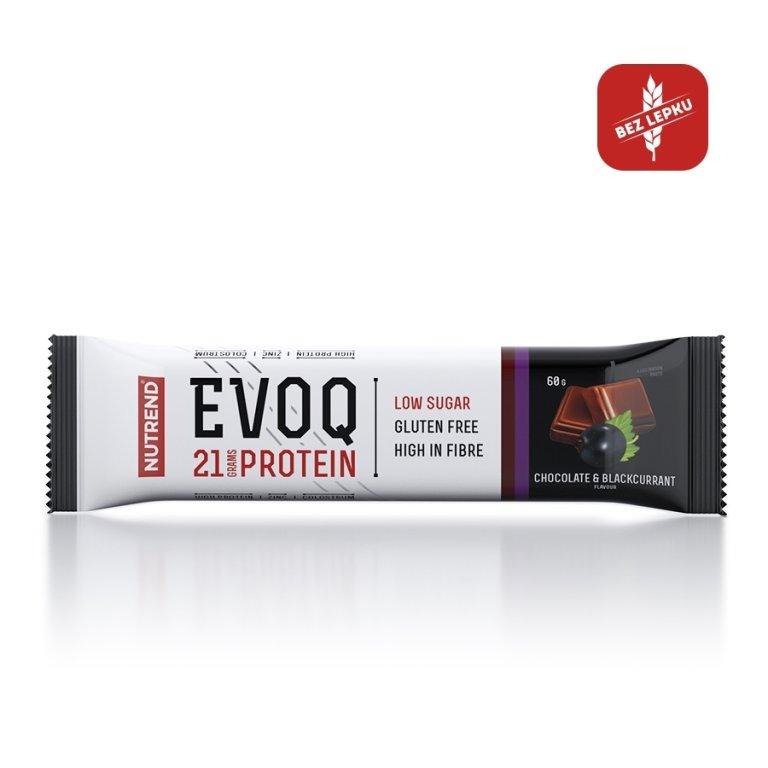 tyčinka Nutrend EVOQ čokoláda+černý rybíz 60g