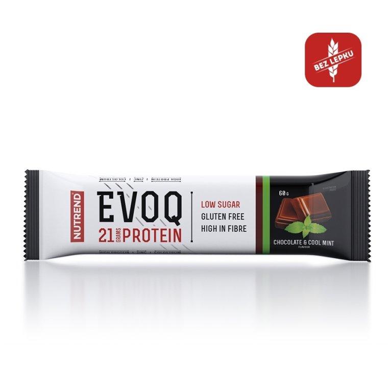 tyčinka Nutrend EVOQ čokoláda+máta 60g