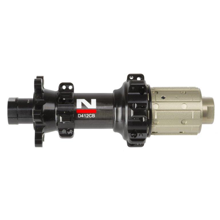 náboj Novatec D412CB 28d carbon zadní