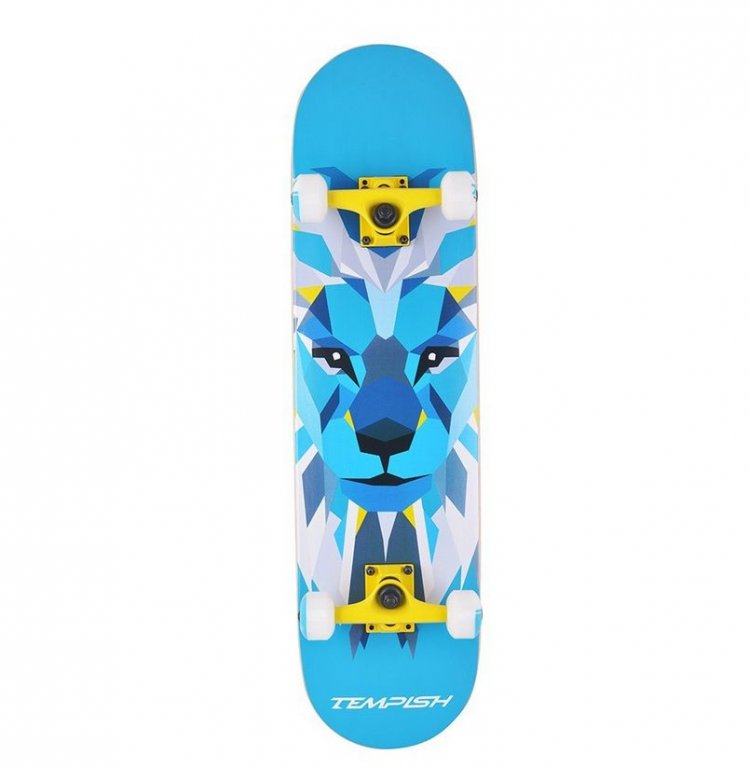 skateboard Tempish LION modrý