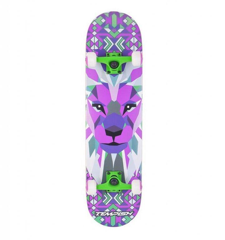 skateboard Tempish LION fialový
