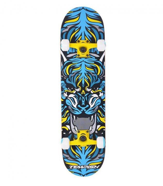 skateboard Tempish TIGER žlutý
