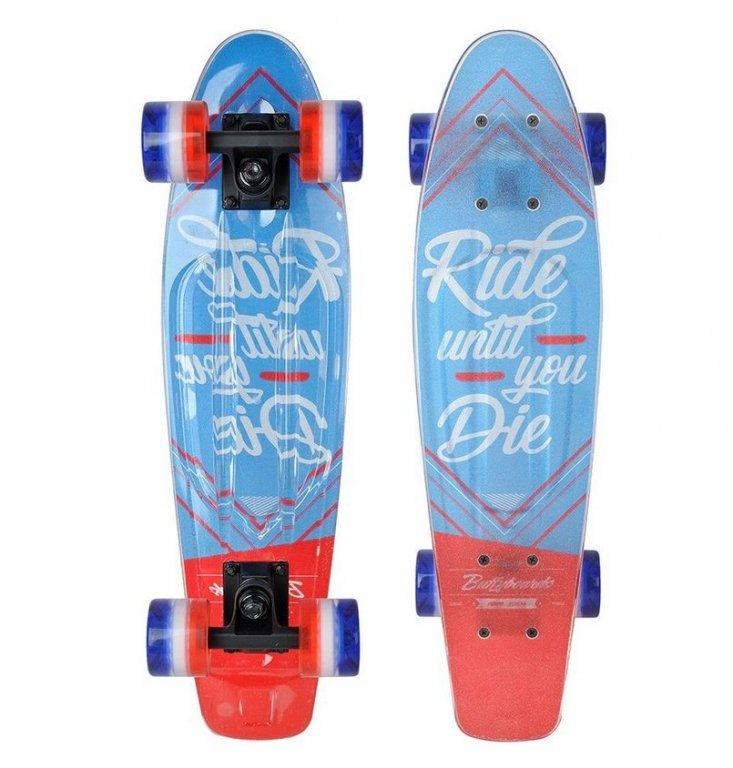 skateboard Tempish BUFFY 3xFLASH ride