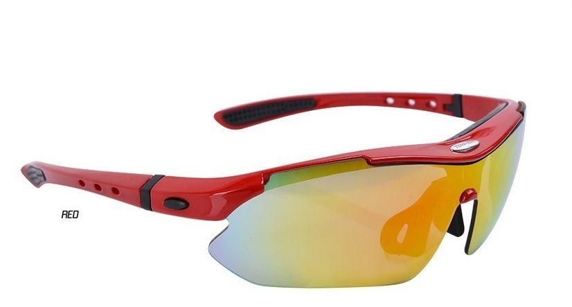 Brýle Tempish CONTRA červené