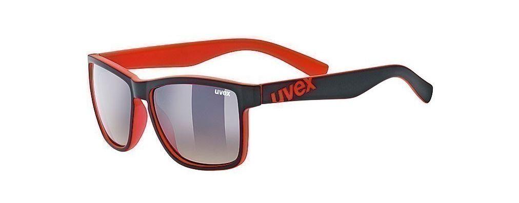 Brýle UVEX LGL 39 černo/červené