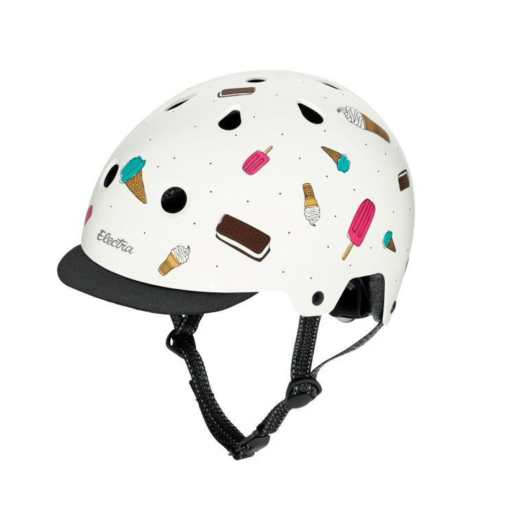 přilba ELECTRA Helmet Soft Serve bílá, M