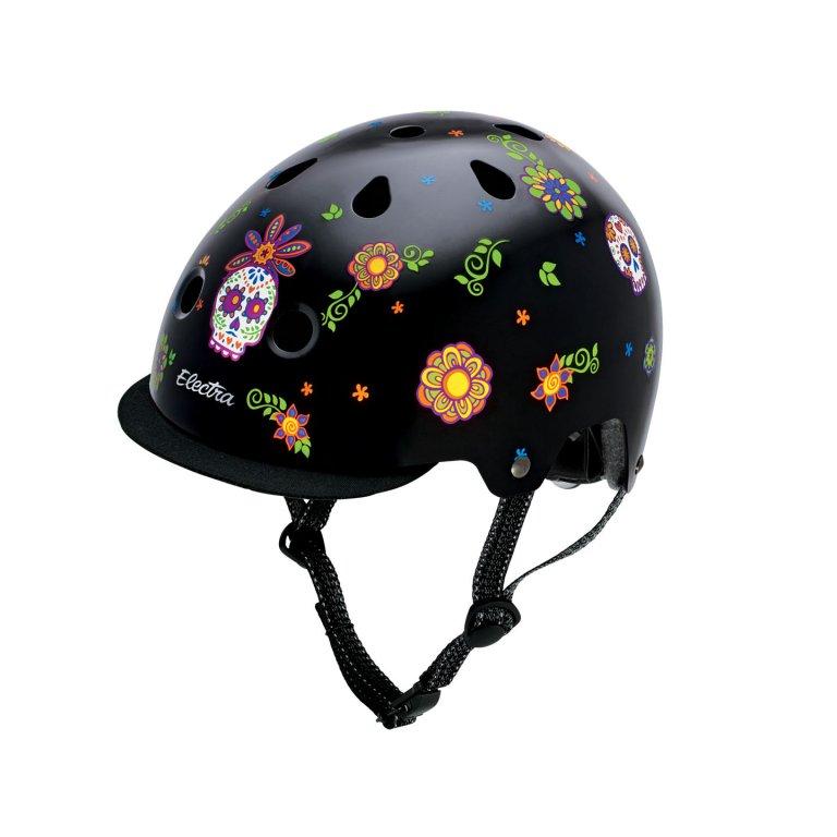 přilba ELECTRA Helmet Sugar Skull, M