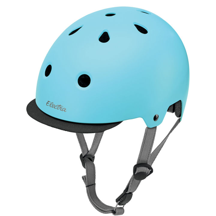 přilba ELECTRA Helmet Solid modrá, M