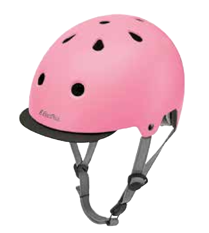 přilba ELECTRA Helmet Solid růžová, M
