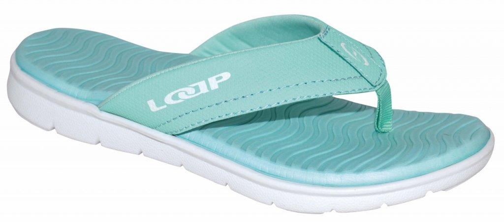 boty dámské LOAP SOMA žabky mentolové, 36
