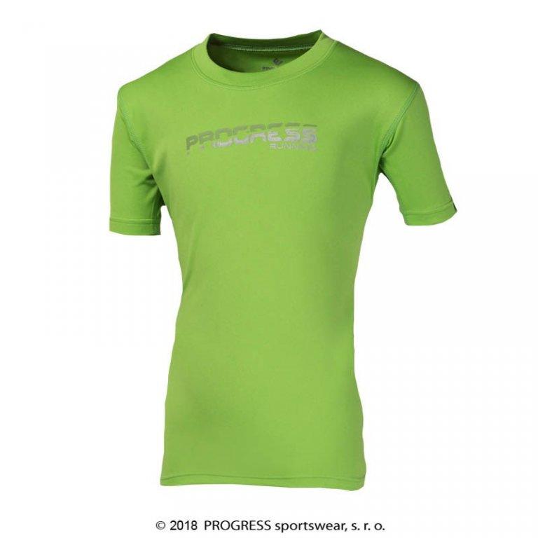 triko krátké dětské Progress MANIO zelené, 104