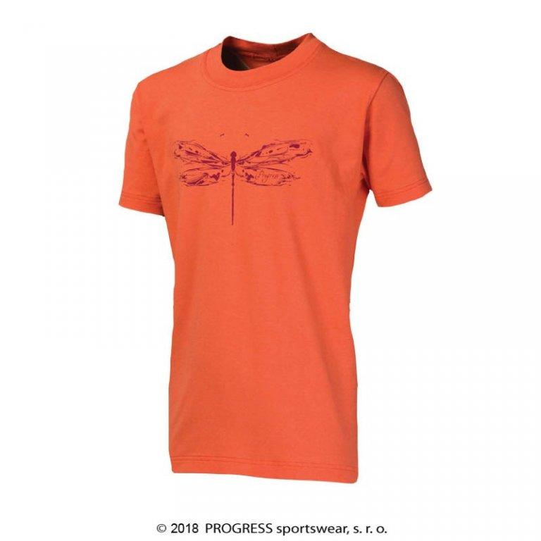 """triko krátké dětské Progress BAMBINO """"VÁŽKA"""" lososové, 152"""