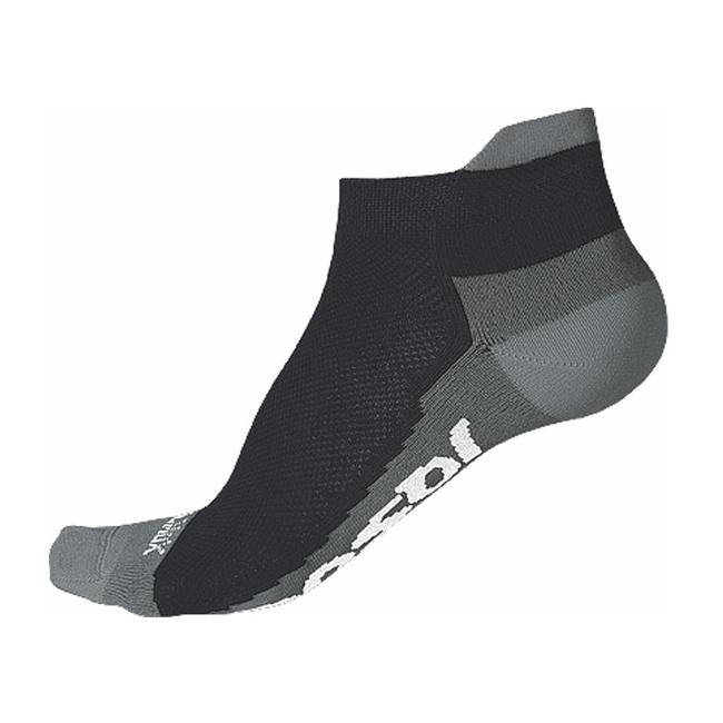 Ponožky SENSOR RACE COOLMAX INVISIBLE černo/šedé