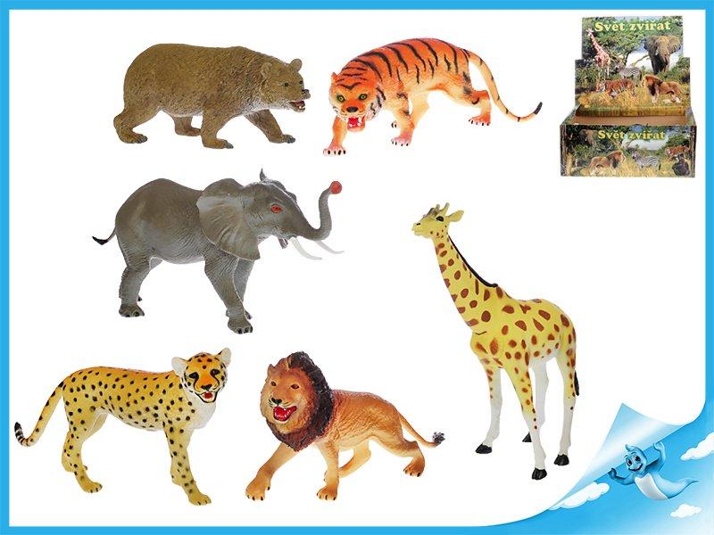 zvířátko safari 23-30cm, slon