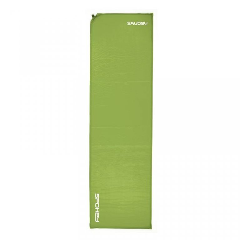 matrace samonafukovací Spokey SAVORY zelená 2,5cm