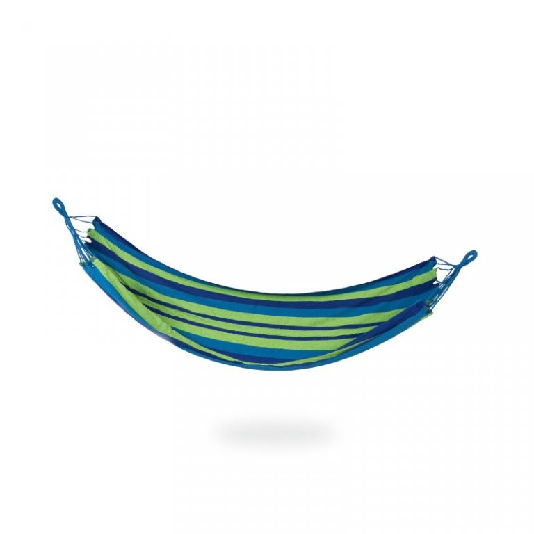 houpací síť Spokey IPANEMA do 120 kg modro/zelená