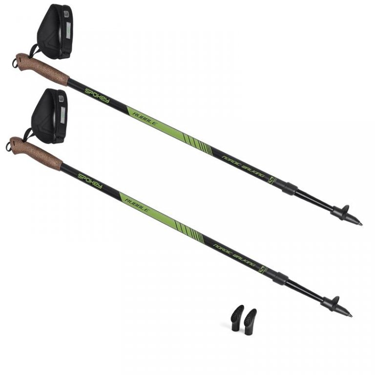 hole Spokey Nordic Walking RUBBLE černo/zelené